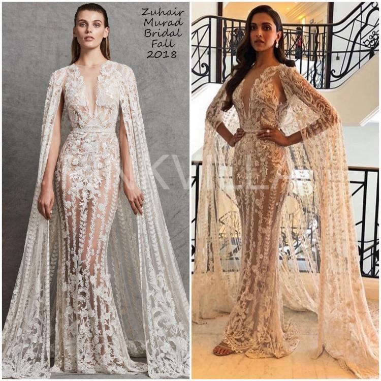 Yay Or Nay Deepika Padukone In Zuhair Murad Deepika Padukone Style Bollywood Fashion Girls Dresses