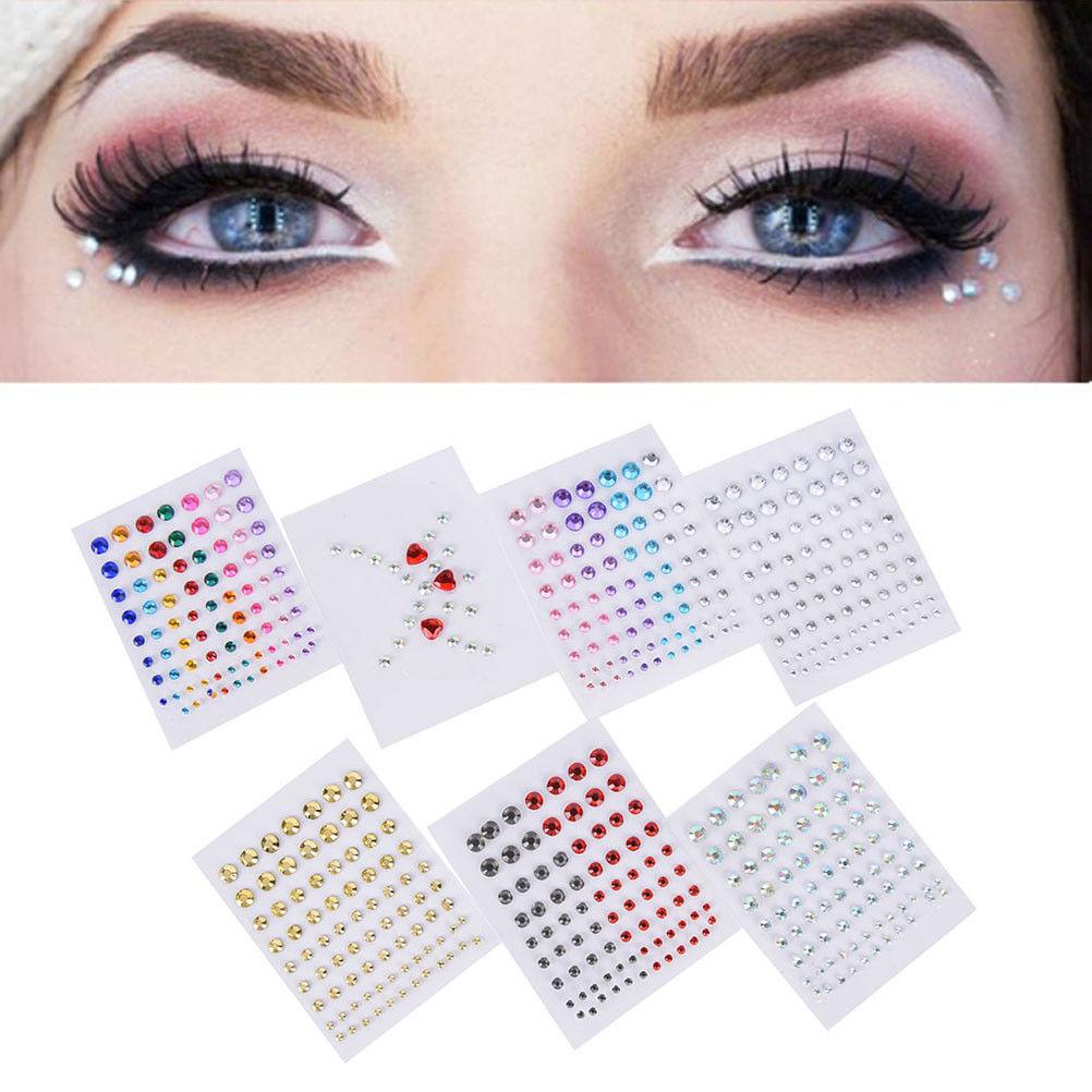 Jewel Eyes Makeup Crystal Eyes Sticker Tattoo Diamond