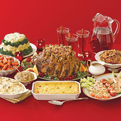 Favorite christmas dinners holiday recipes pinterest christmas dinner menu traditional - Christmas menu pinterest ...