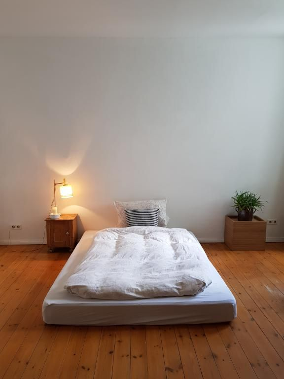 Minimalistisches Schlafzimmer. #Schlafzimmer #Einrichtung ...