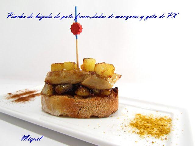 recetas de pinchos sobre pan