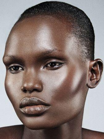 African model prominent cheekbones … | Pinteres…