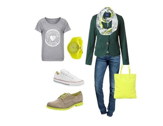 Street Style with yellow