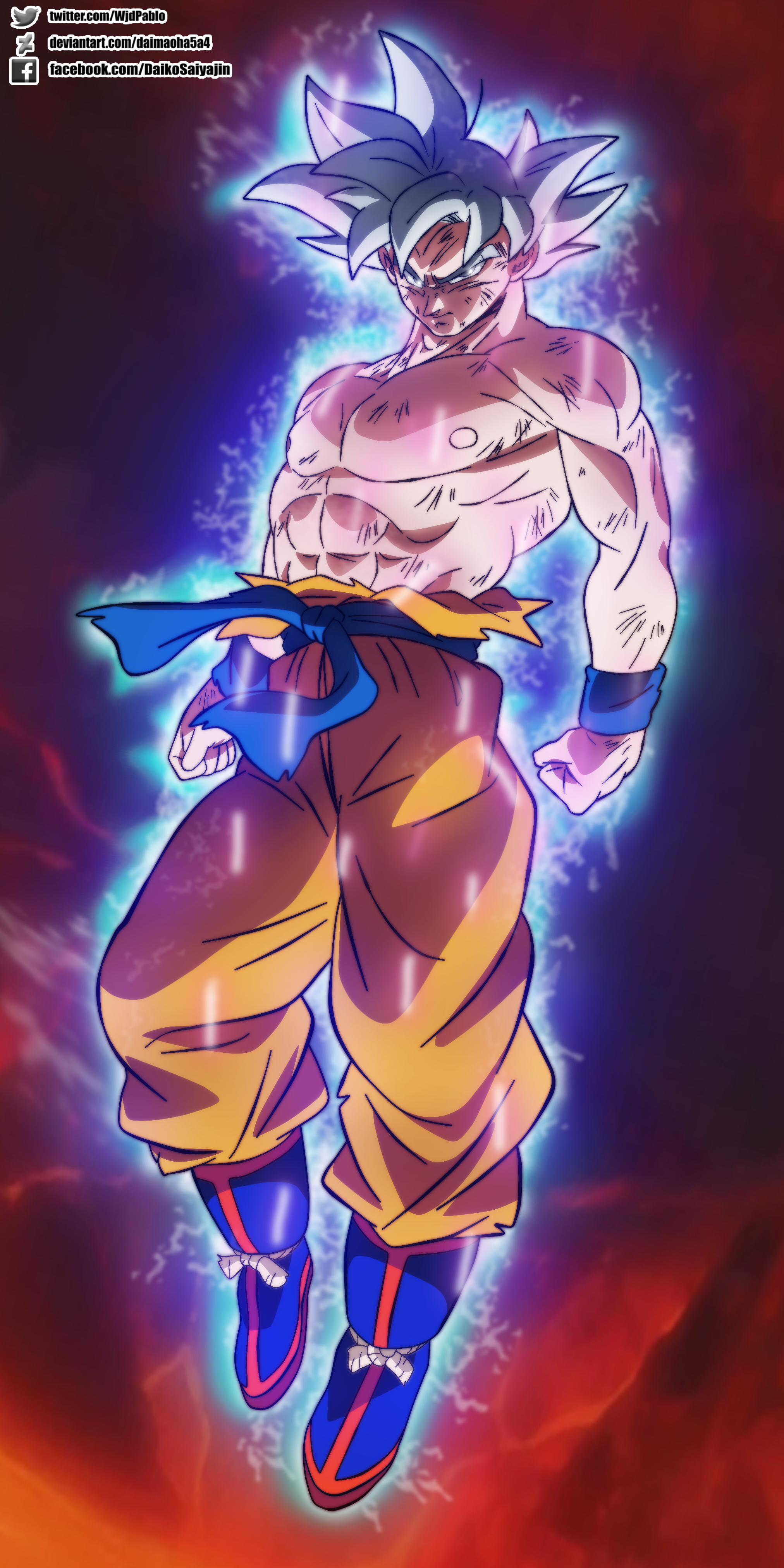 Goku Mastered Ultra Instinct In Broly Movie By Daimaoha5a4 On Deviantart Anime Dragon Ball Super Dragon Ball Super Goku Dragon Ball