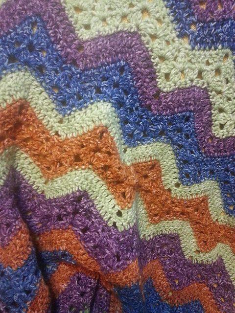 Crochet Heals Cassandra   Cobija y Manta