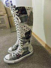 Knee high converse, Boots