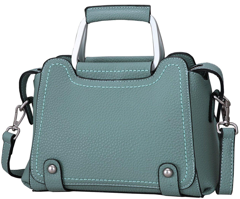 0e3b0d6ec7 Heshe Womens Leather Handbags Small Totes Top Handle Handbag Shoulder Bag  Satchel Purse Cross Body Bags