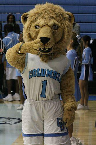 sports shoes db9da d80a1 Columbia University Lions mascot, Roaree the lion. | College ...