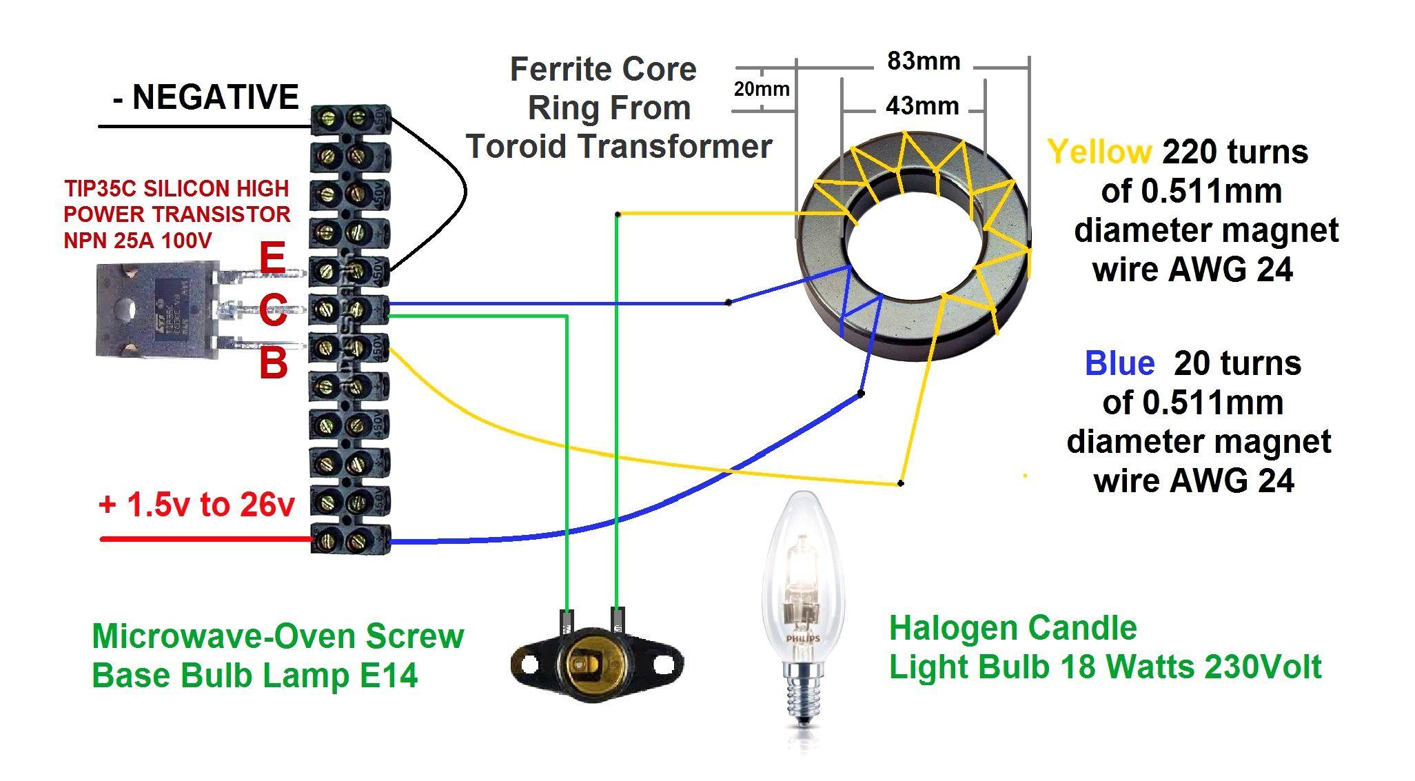 Component How To Make A Simple Transformer Homemade Dc Ac