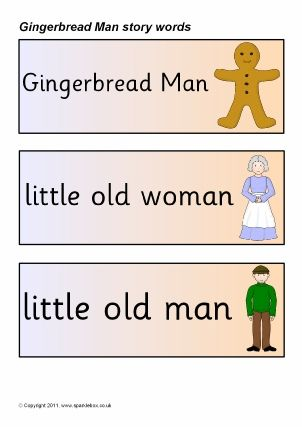 Gingerbread Man Story Map Template | Sparklebox Has Some Fabulous Gingerbread Printables Like Story