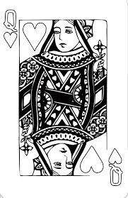 Queen Of Hearts Card Google Search Queen Of Hearts Card Heart Coloring Pages Queen Of Hearts