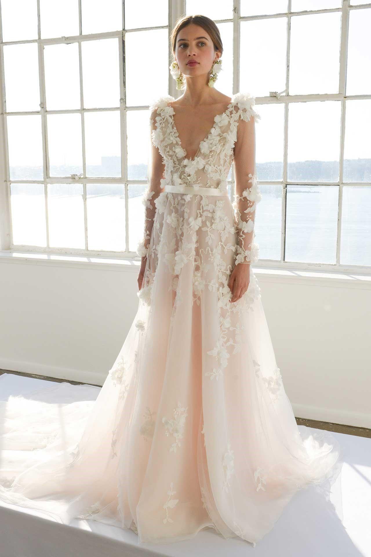 Marchesa bridal collection report bridesmagazine