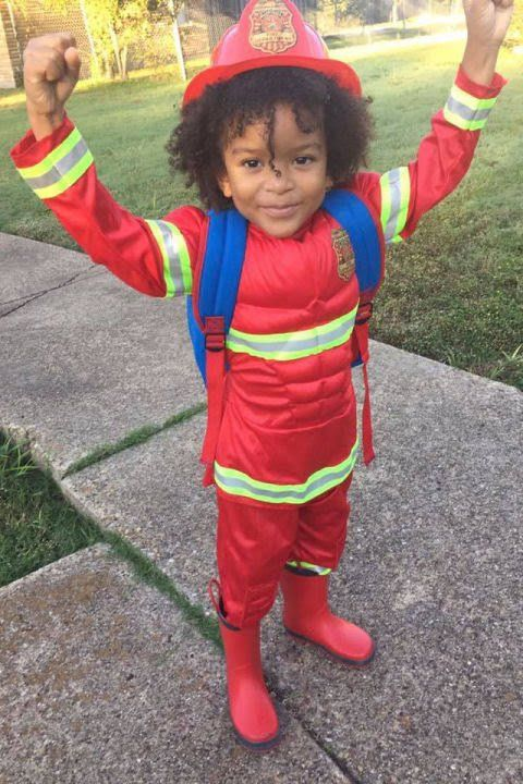Because yours would be the CUTEST little Annie Hallowee - kid halloween costume ideas
