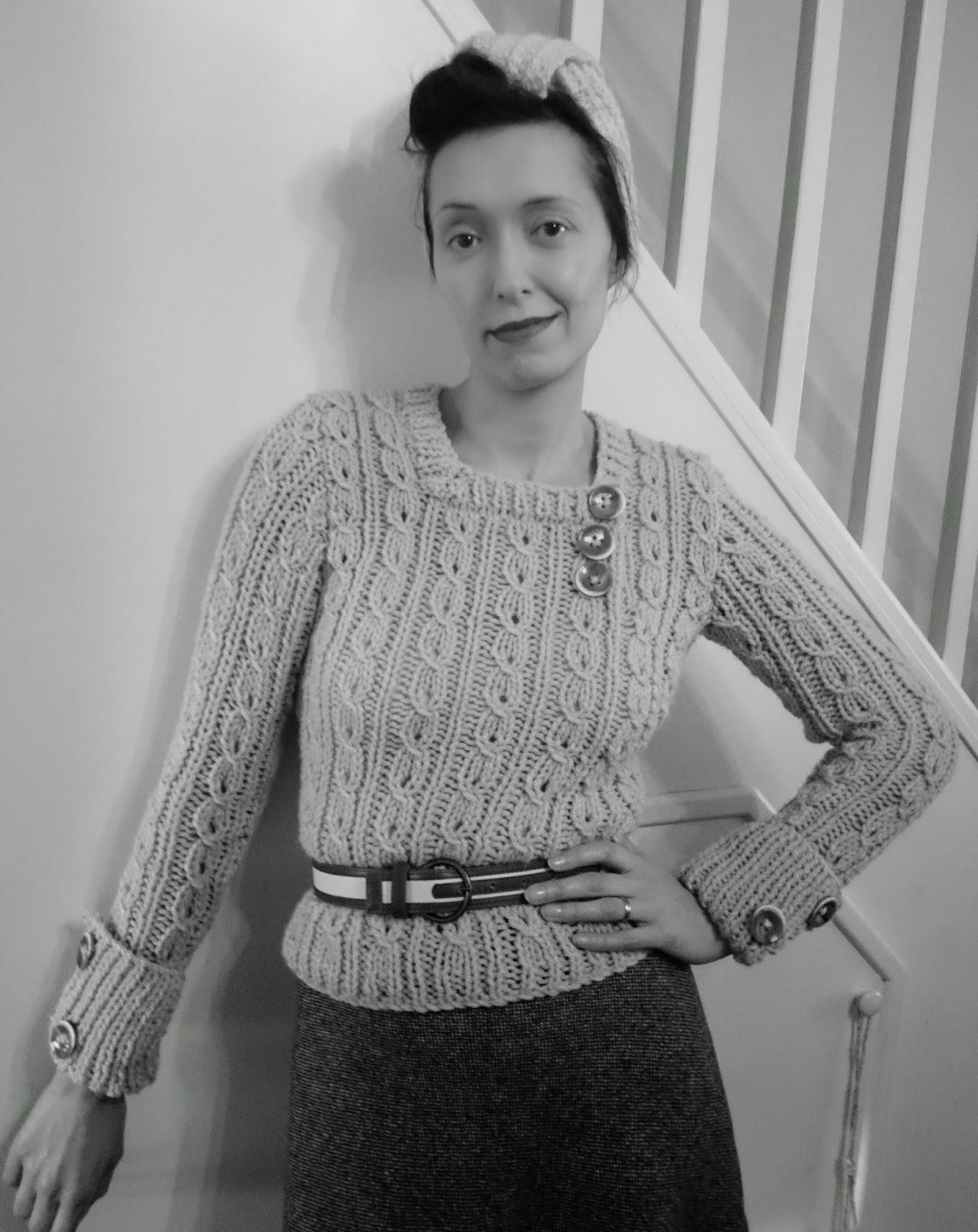 A free pattern for a jumper in thick wool from a 1936 edition of a free pattern for a jumper in thick wool from a 1936 edition of bankloansurffo Image collections