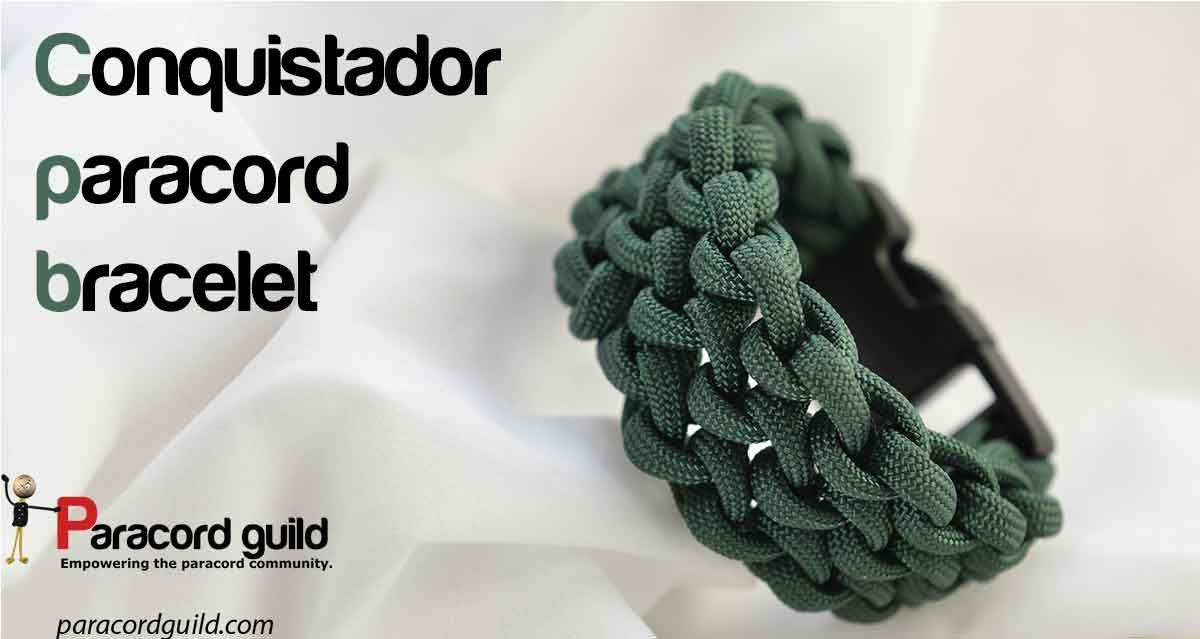 How to make a conquistador paracord bracelet  | Paracord
