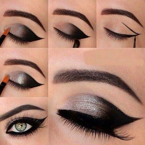 Bevorzugt 10 Tuto makeup pratiques pour se faire des yeux de biche | Makeup  SH42