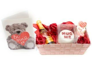 Choose Romantic Valentine Gift Hampers For Her Him From Our On