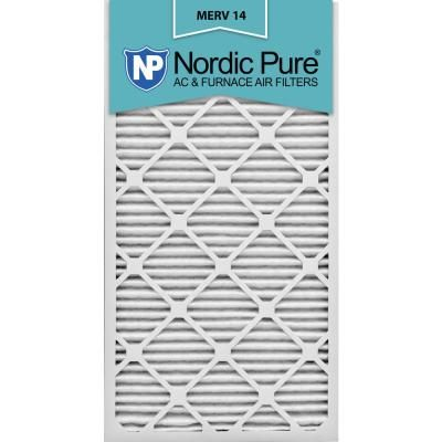 Nordic Pure 12 In X 30 In X 1 In Supreme Allergen Pleated Merv 14 Fpr 10 Air Filter 6 Pack Pure Products Air Filter Sizes Air Filter