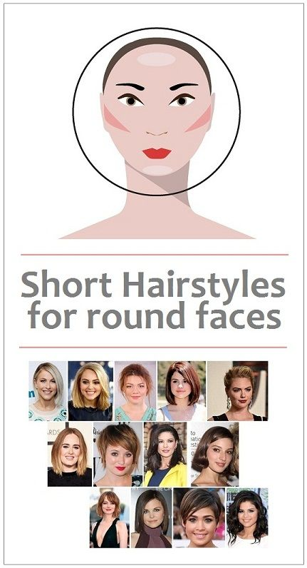 15 Perfect Matching Short Haircuts for Round Faces