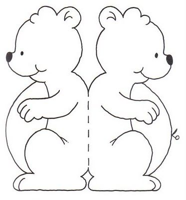 El rincon de la infancia moldes de tarjetas infantiles - Mesas para dibujar ...