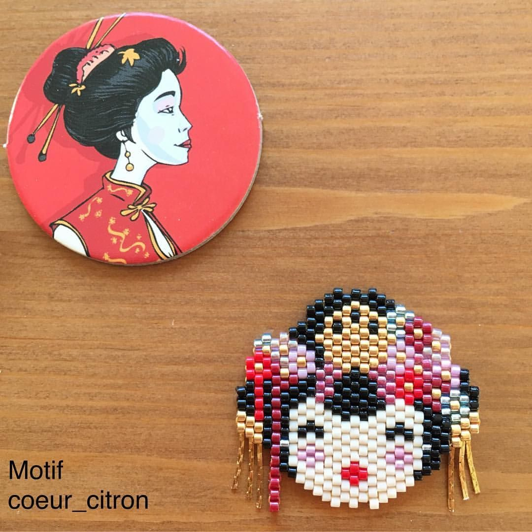 Pin de Barbara en Amiyuki perles | Pinterest