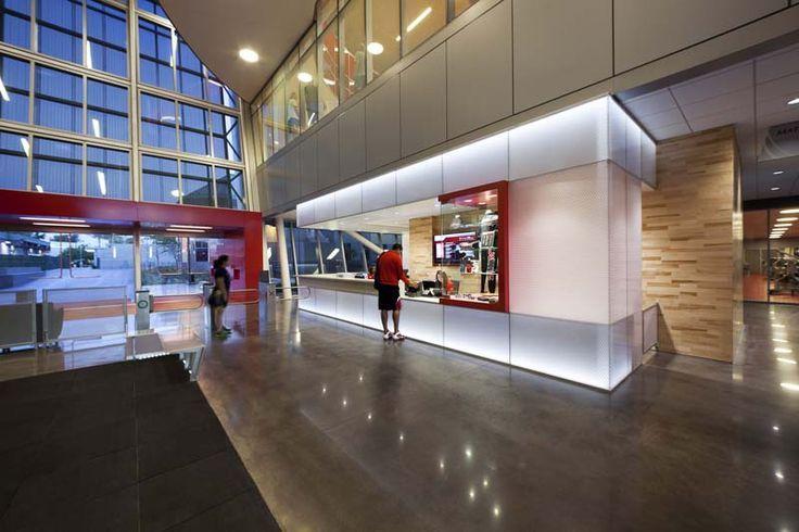 CSUN Wellness Center Interior architecture, Architect
