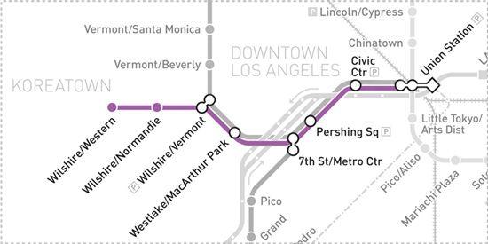 Metro Purple Line Purple Line Public Transport Union Station