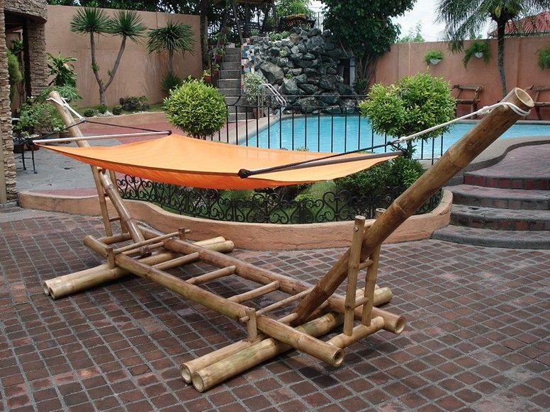 Diy Bamboo Hammock Stand Ideas