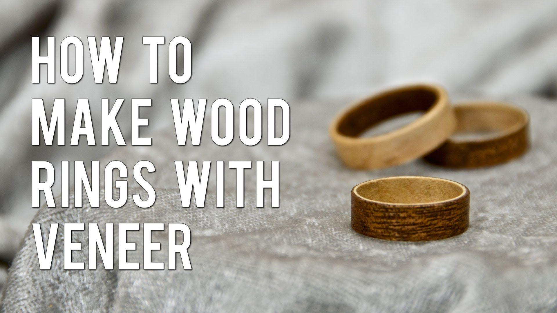 How to make wood rings from veneer wood rings wooden