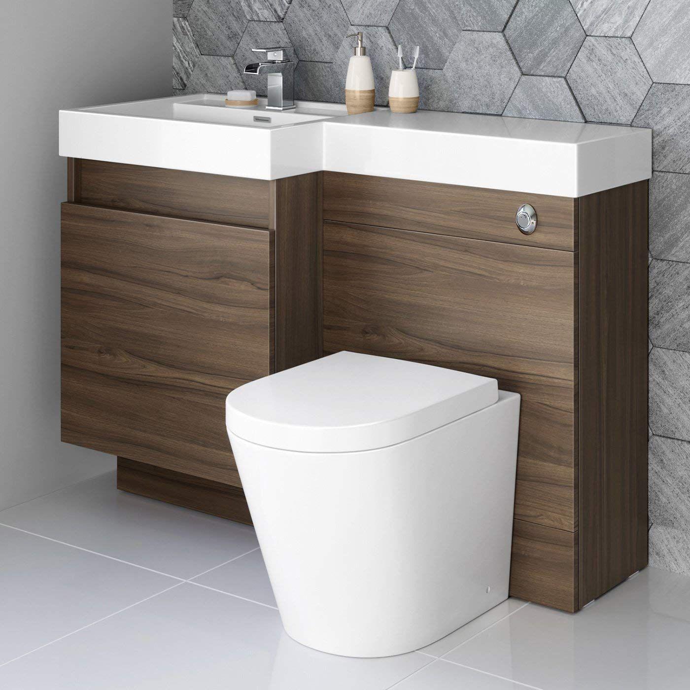 Vanity Unit Round Toilet Bathroom Sink