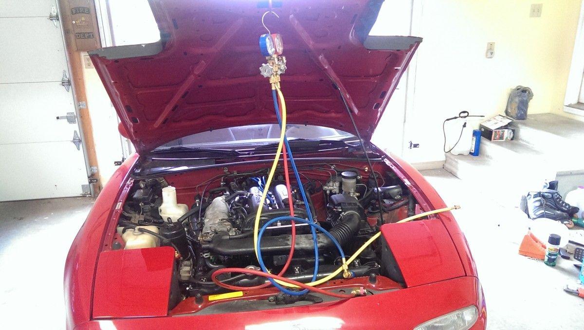 Recharging Car Air Conditioning Car Air Conditioning Car Honda