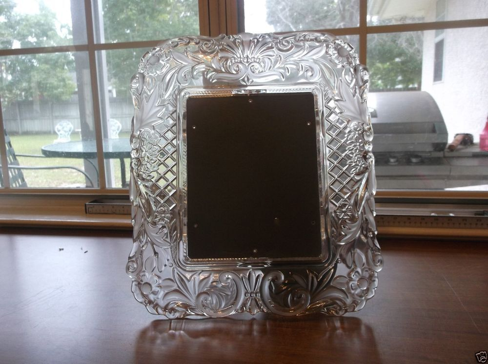 Waterford Crystal Picture Frame 8 x 10 Beautiful Never Used ...