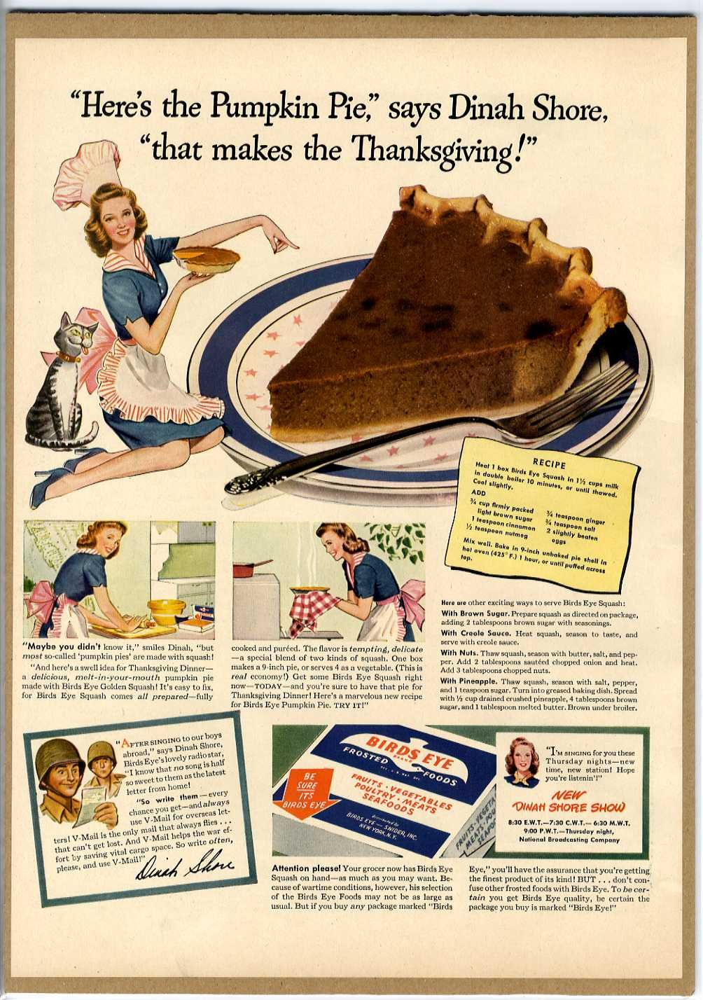 Crisco Shortening, 1948  ( all about Crisco ) PET Evaporated Milk  1960s ( all about PET ) Baker's Co… | Thanksgiving ads, Vintage  thanksgiving, Vintage adsPinterest
