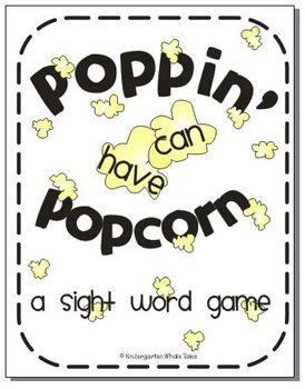 Sight word game...free