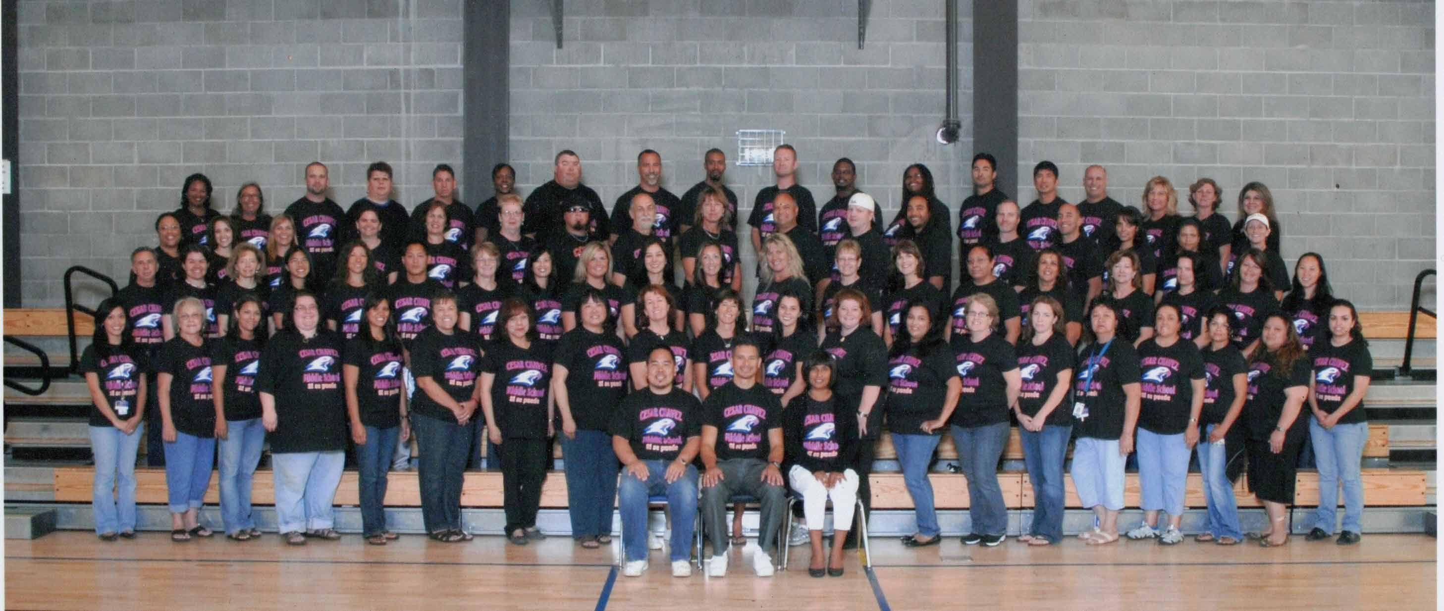 Cesar Chavez Middle School Union City Staff Photo