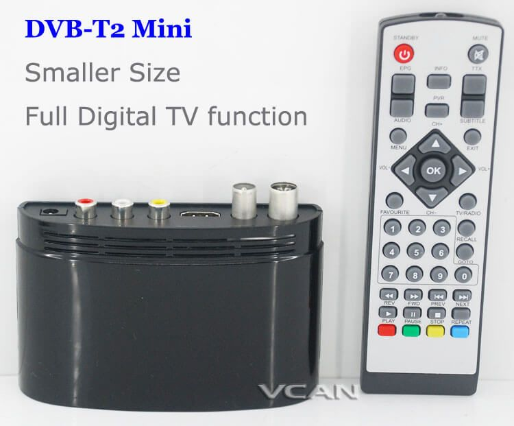 Mini dvbt2 receiver full function dvbt2 hdmi output for