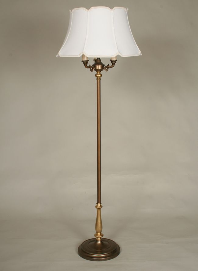 Vintage six way floor lamp c 1945