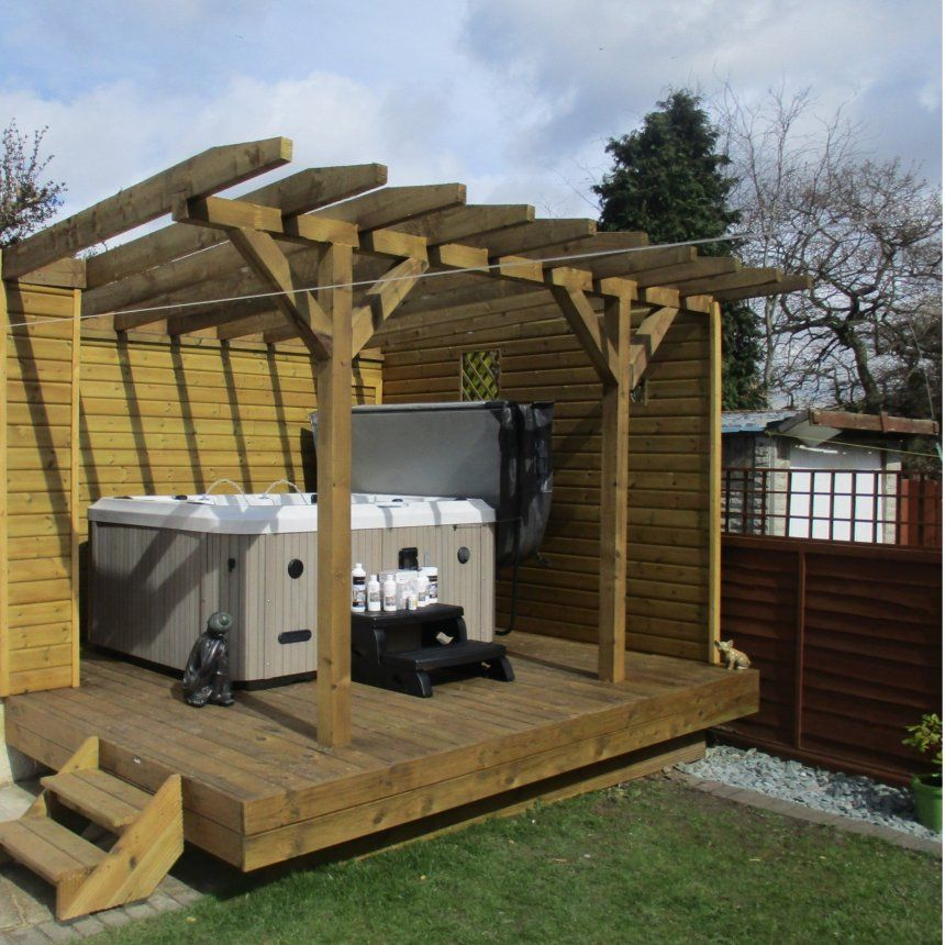 Image Result For Hot Tub Shelters Hot Tub Shelters Summer House Backyard
