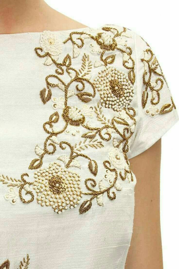 Beautiful embroidery.   Bordados   Pinterest   Bordado, Modelos de ...