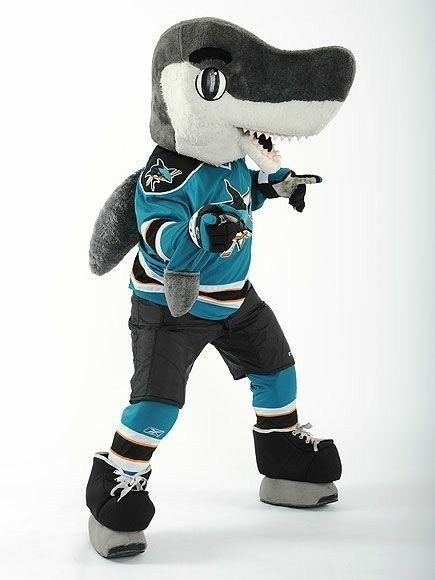 Sharkie San Jose Sharks Shark San Jose Sharks Nhl All Star Game