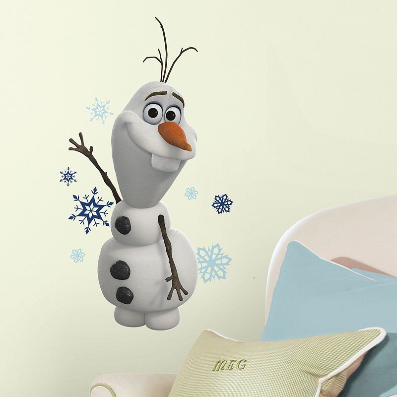Disney Frozen Olaf Peel & Stick Wall Stickers
