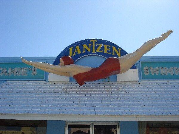 Jantzen girl