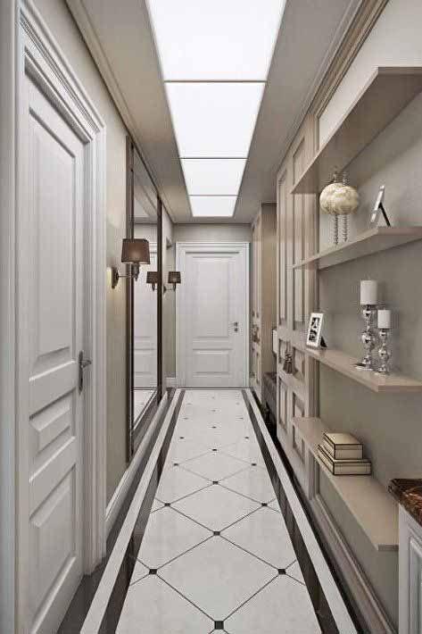 Arredare il corridoio stretto e lungo e le migliori idee for Arredare corridoio ingresso