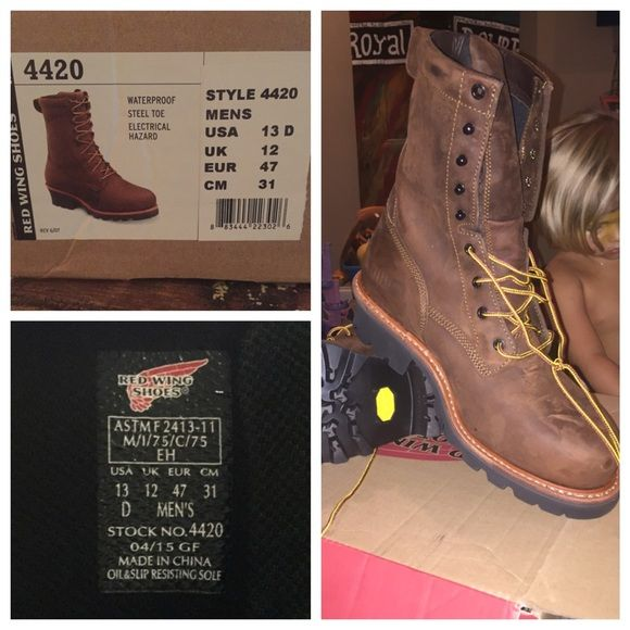Red wing boots, Boots, Steel toe boots