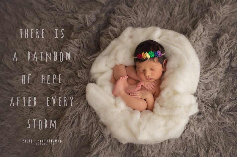 Image result for rainbow baby newborn