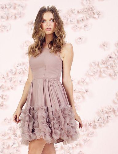 14a6e72636 LC Lauren Conrad Runway Collection Ruffle Organza Dress - Women's ...
