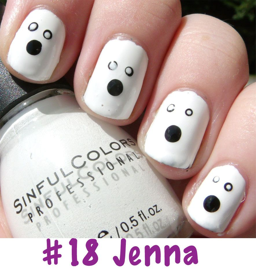 the manicured monkey: halloween nail art contest! | nails