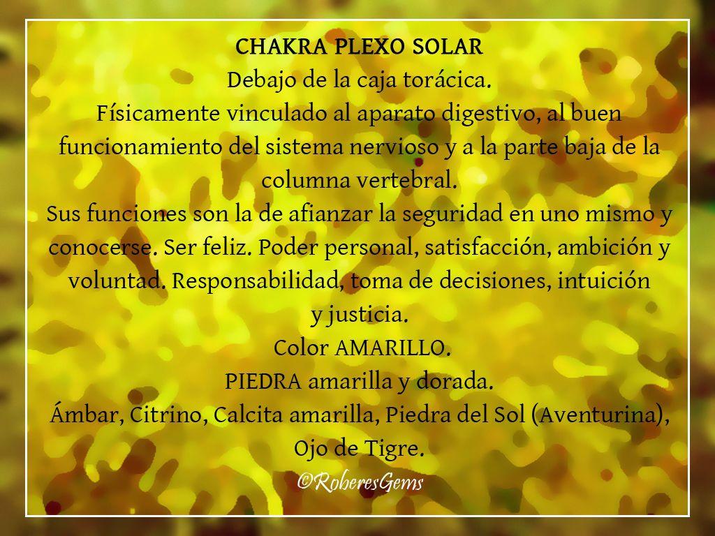 Chakra Plexo Solar Color Amarillo Plexo Solar Chakras Reiki Sanacion