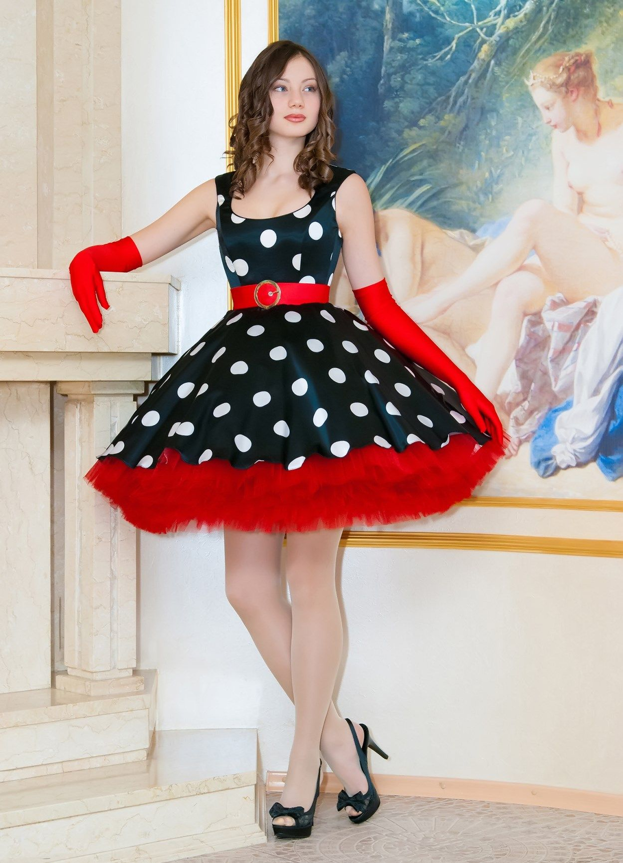 dress for a party in the New look 50s style www.retro ...