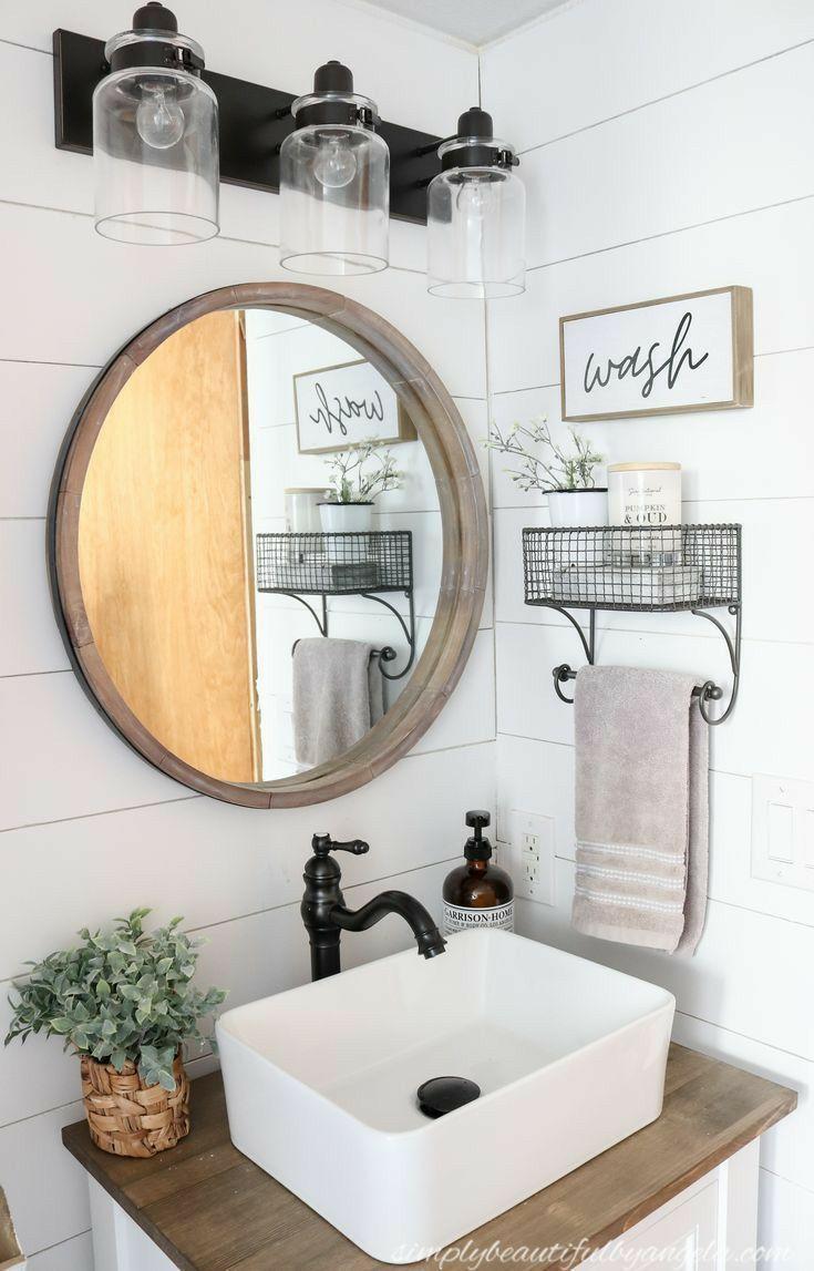 Pin By Sarah Sheridan Kolasa On Home Sweet Home In 2020 Bathroom Decor Bathroom Makeover Small Bathroom Decor